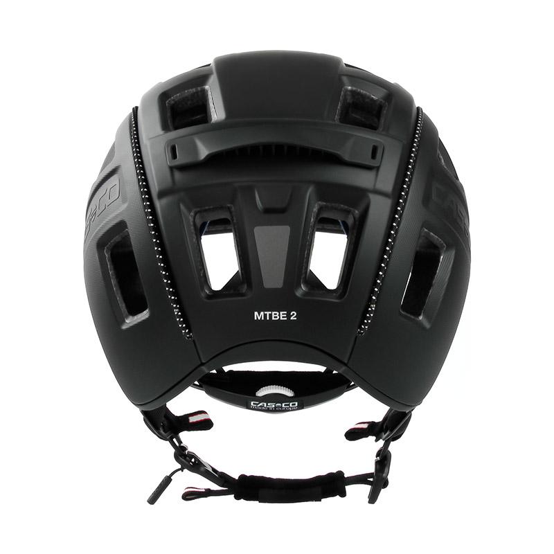 Casco Fahrradhelm   MTBE 2  schwarz-matt  Gr M 56-58    04.1312.M