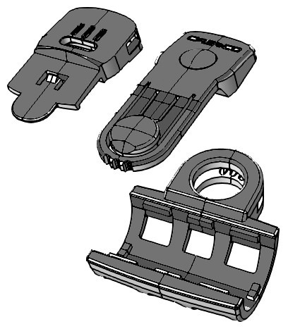 Adapterset Power Light für PF 100 Rescue