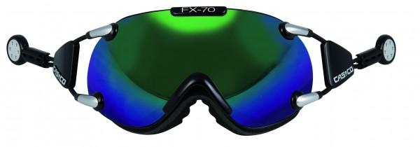 FX70 Carbonic schwarz grünspiegel