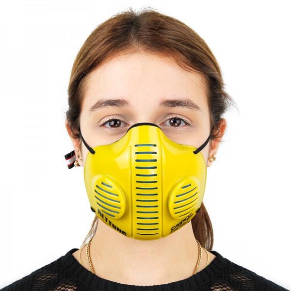 CASCO Mask 2.0 in gelb