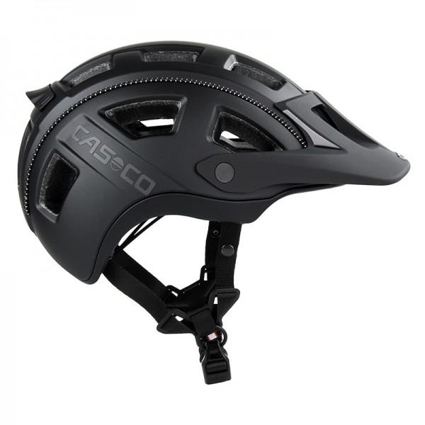 Fahrradhelm Casco MTBE 2- der Mountainbike-Helm in schwarz