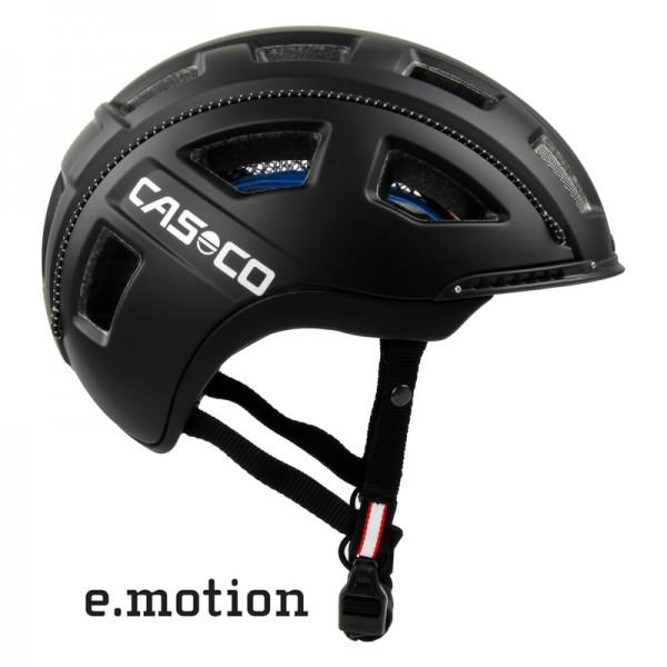 E-bike Helm e.motion in schwarz matt - ein Casco Fahrradhelm für die E-Biker