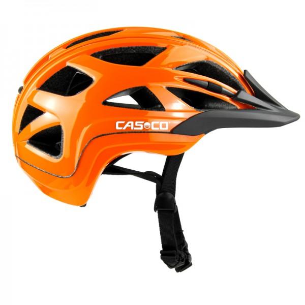 Fahrradhelm Activ 2 Casco Kinderhelm in der Farbe orange