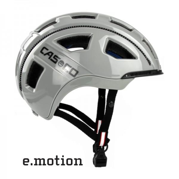 E-bike Helm e.motion in sand glanz - ein Casco Fahrradhelm für die E-Biker