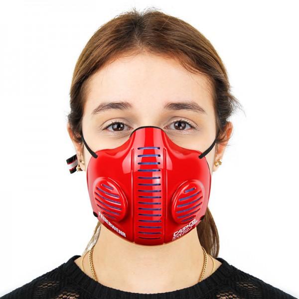 Casco Mask 2.0 in rot (Feuerwehr)