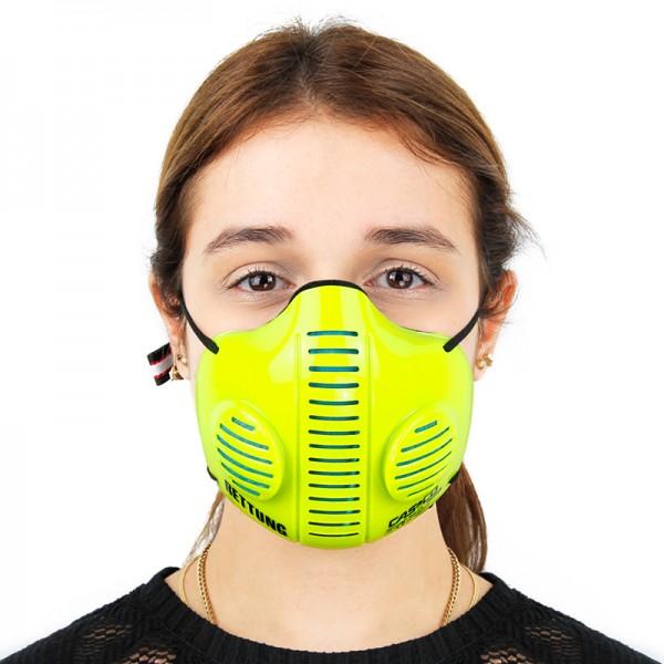 CASCO Mask 2.0 in neongelb