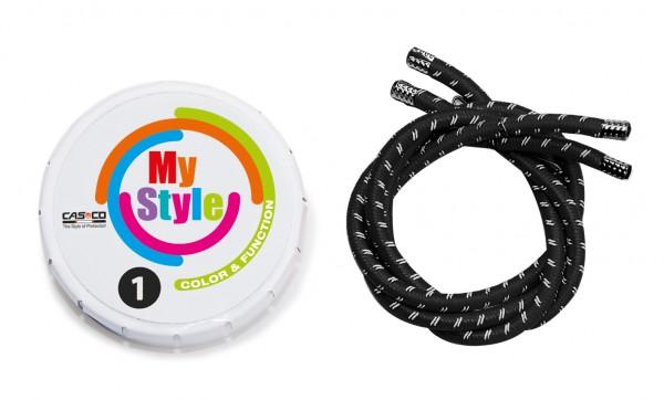 MyStyle Casco Streifen schwarz